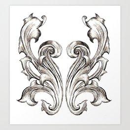Baroque Art Print