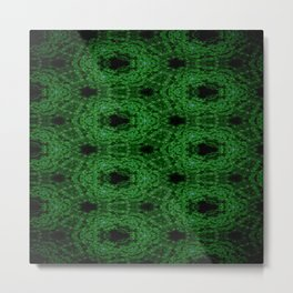 Concave Stature Pattern 11 Metal Print