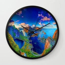 The Islands Wall Clock
