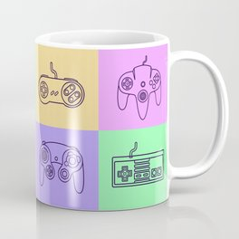 Nintendo Gaming Controllers - Retro Style! Coffee Mug
