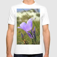 Flower in the Sand Mens Fitted Tee White MEDIUM