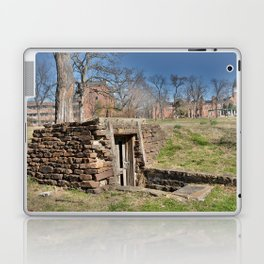Cherokee Nation - Hendricks Spring, the Site Selected for Seminary Hall, after the first burned, #2 Laptop & iPad Skin