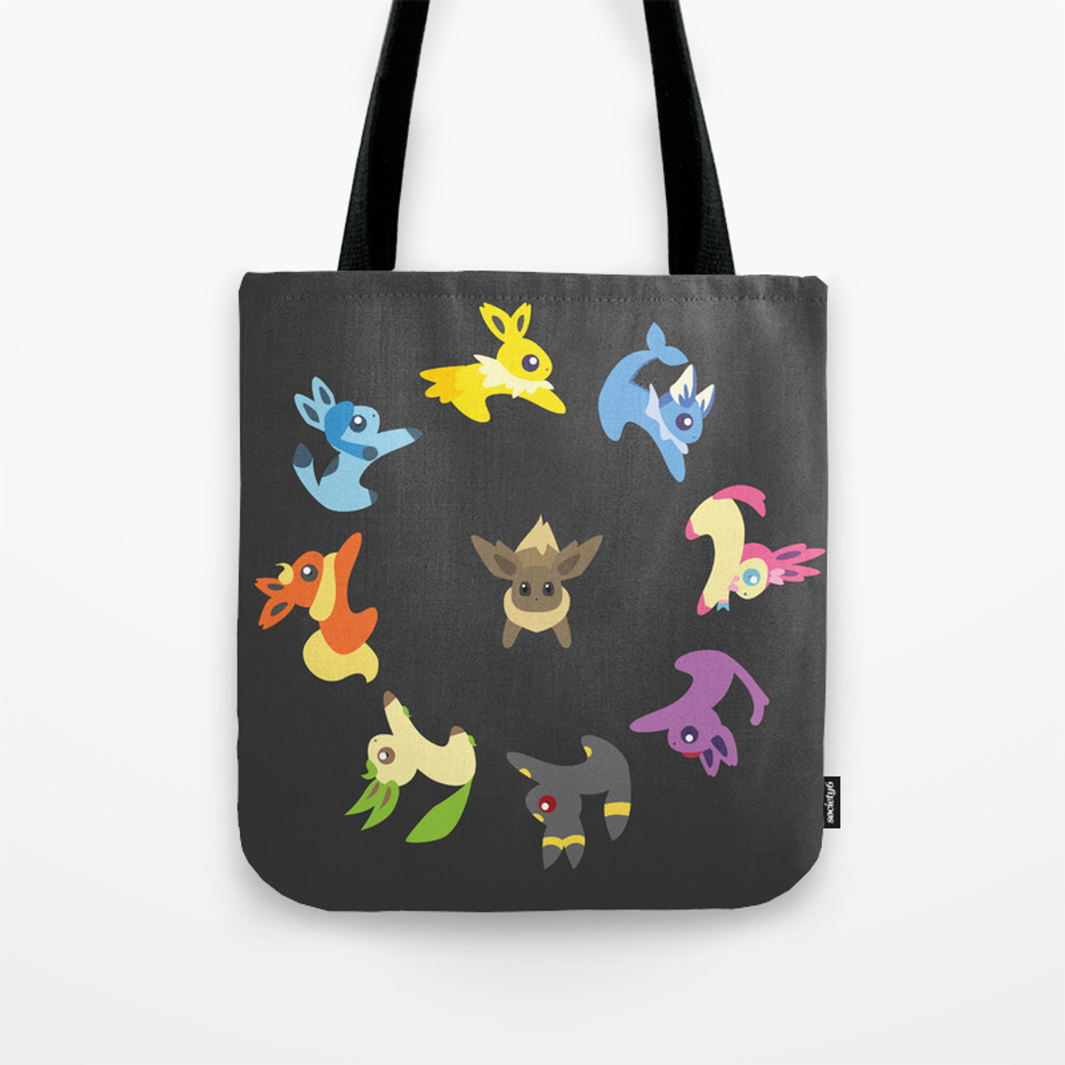 NEW 3 pks of Tote Bags Bat Black Cat /& Spider