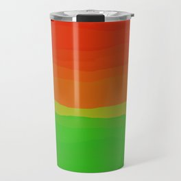 Candy Watermelon Abstract Travel Mug