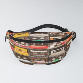 Something Nostalgic V - Music - Global Language #decor #society6 #buyart Fanny Pack
