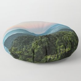 The Morning Mists Floor Pillow