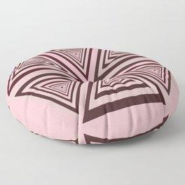 6 OP Triangles Millenial Pink Floor Pillow
