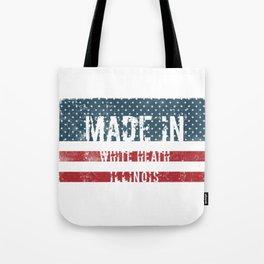 Made in White Heath, Illinois Tote Bag