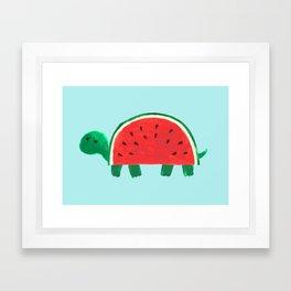Slow Day Framed Art Print