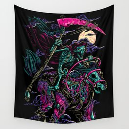 Death Rider Wall Tapestry
