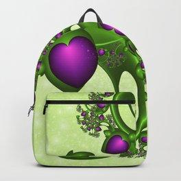 Fractal Love And Hope Backpack