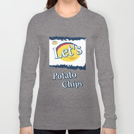 Let's Potato Chips Long Sleeve T-shirt
