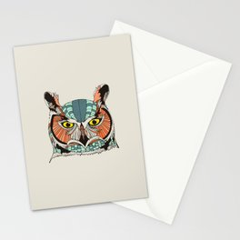 OWLBERT Stationery Cards