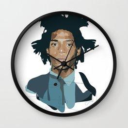 Jean-Michel Basquiat - Artist Series Wall Clock