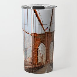 Brooklyn Bridge Sunrise Travel Mug