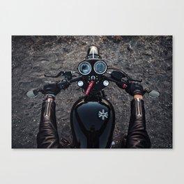 Triumph Cafe Racer Canvas Print