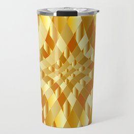 Luxury golden texture Travel Mug