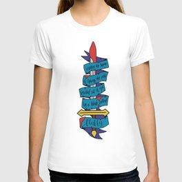 Blade Called Fluffy (Nevernight) T-shirt