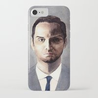 moriarty iPhone & iPod Cases featuring Jim Moriarty by Ow Wei Yi
