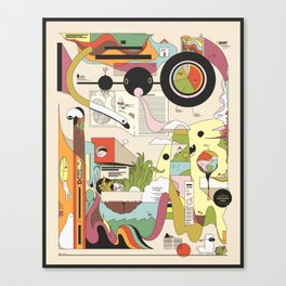 The Cozy Adventure Canvas Print
