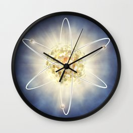 Nuclear power Wall Clock