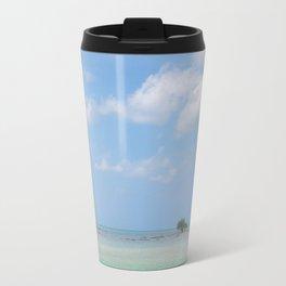 Lone Tree in Paradise Island Travel Mug