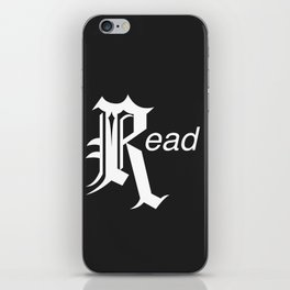 Read iPhone Skin