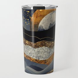 Metallic Mountains Travel Mug