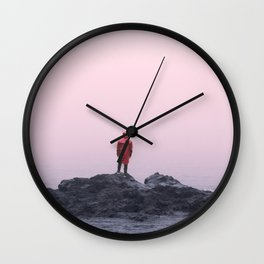 Lake Superior Minnesota Cinematic Vibes Wall Clock