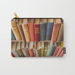 The Colorful Library Carry-All Pouch