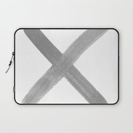 kiss hug, x o, love, typography Laptop Sleeve
