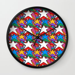 Wonderful Starburst Wall Clock
