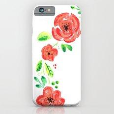 Spring flower wreath Slim Case iPhone 6s