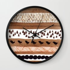 Pattern / Nr. 3 Wall Clock