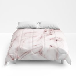 Red marble pattern Comforters