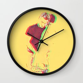 Love Me From The Inside Out Wall Clock