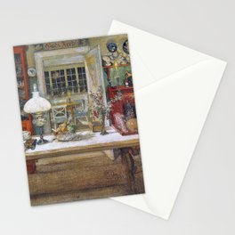 Getting Ready For A Game - Carl Larsson Stationery Cards
