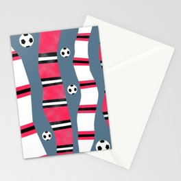 Mancunian Soccer (Football) Scarves Stationery Cards