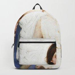 """Angel"" Portrait by Abbott Handerson Thayer Backpack"