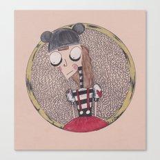 mouse club dropout. Canvas Print