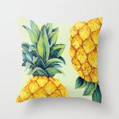 Pineapple Paradise Throw Pillow