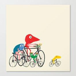 Bike is Life Canvas Print