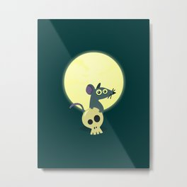 Moon Rat Metal Print