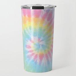 Pastel Tie Dye Travel Mug