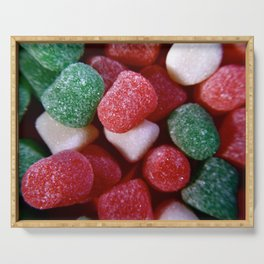 Christmas Spice Drop Candy Serving Tray