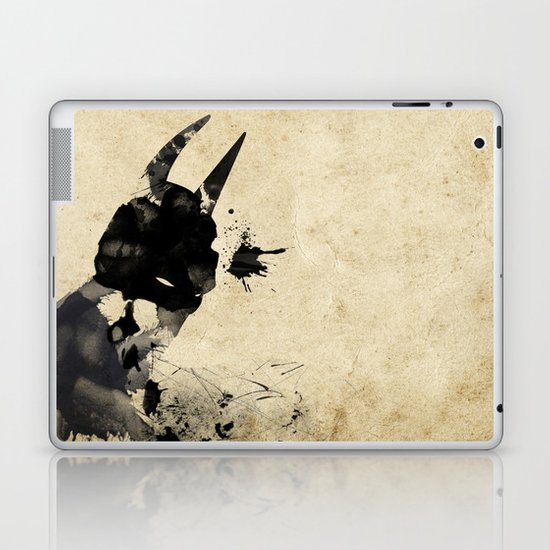 Dark Laptop & iPad Skin