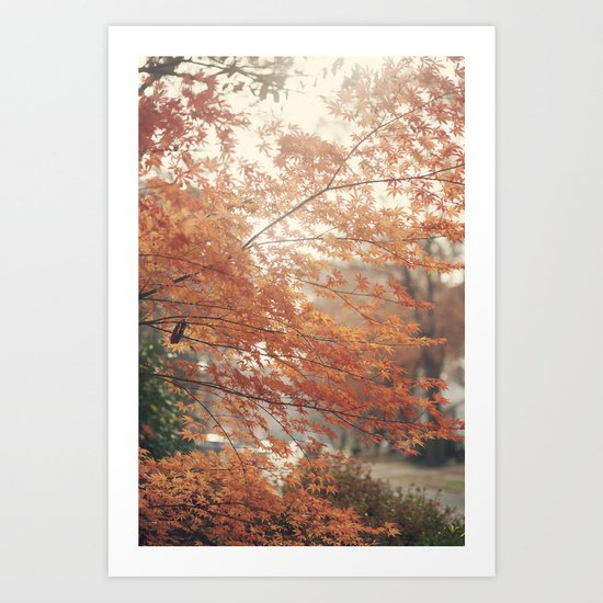 Home for Thanksgiving Art Print