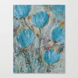 love her, but leave her wild Canvas Print