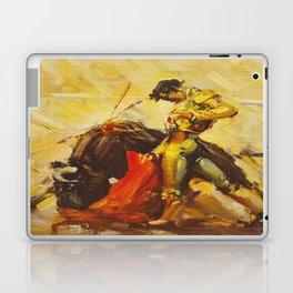 Vintage Mexico Bullfighting Travel Laptop & iPad Skin