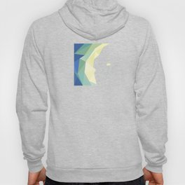 minimal art flower of crystal Hoody